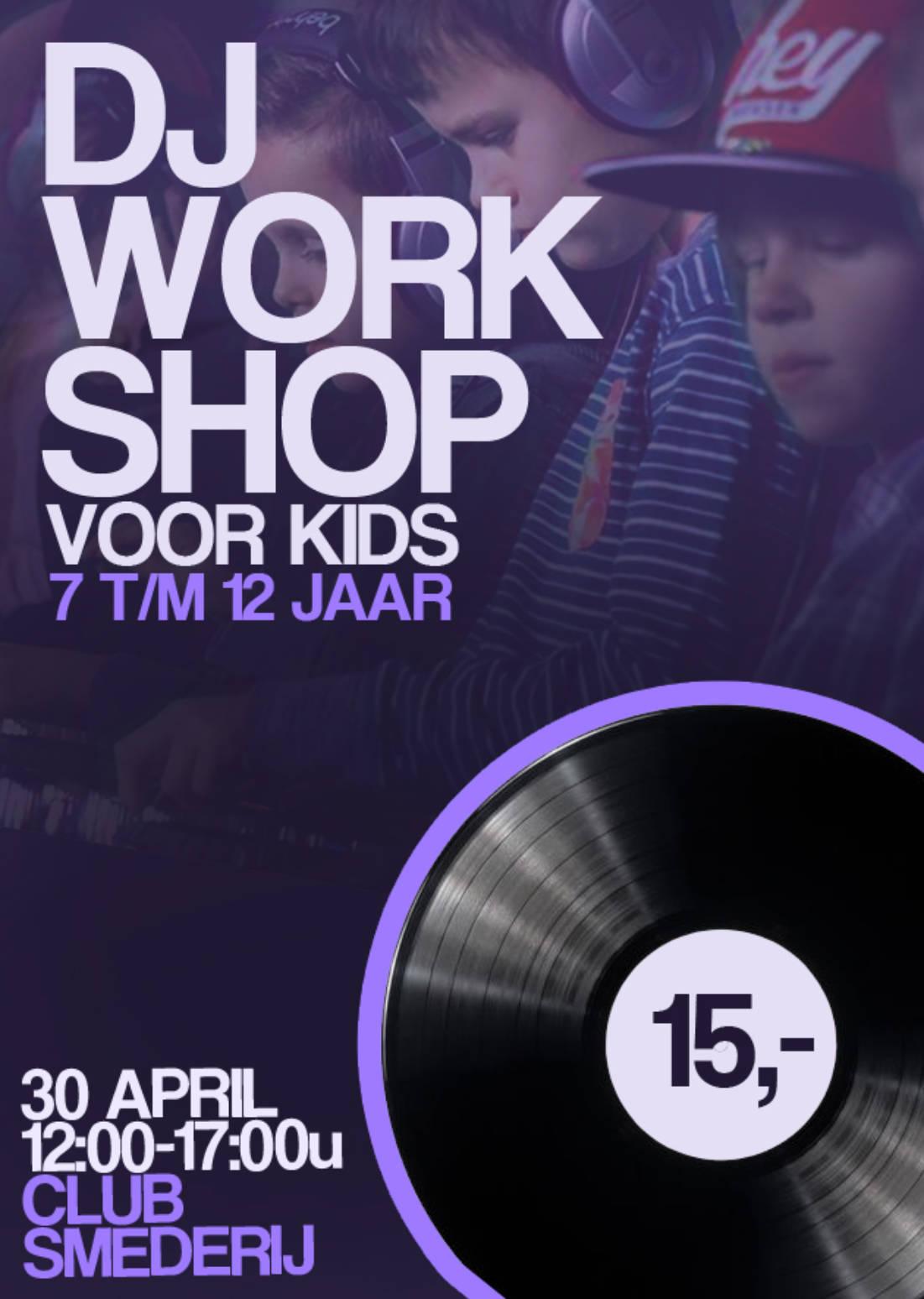 DJ-WORKSHOP VOOR KIDS