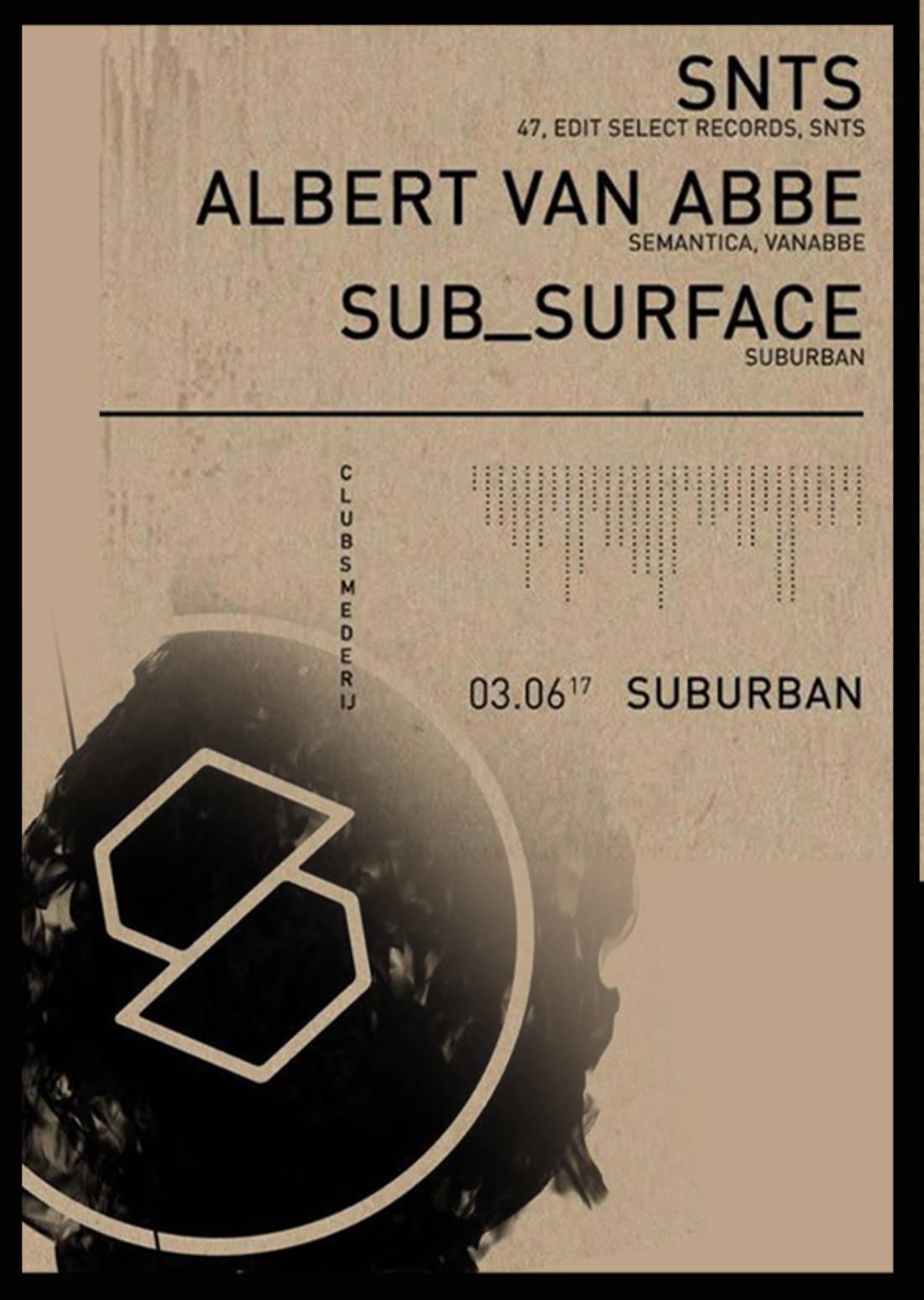 SUBURBAN W/ SNTS + ALBERT VAN ABBE