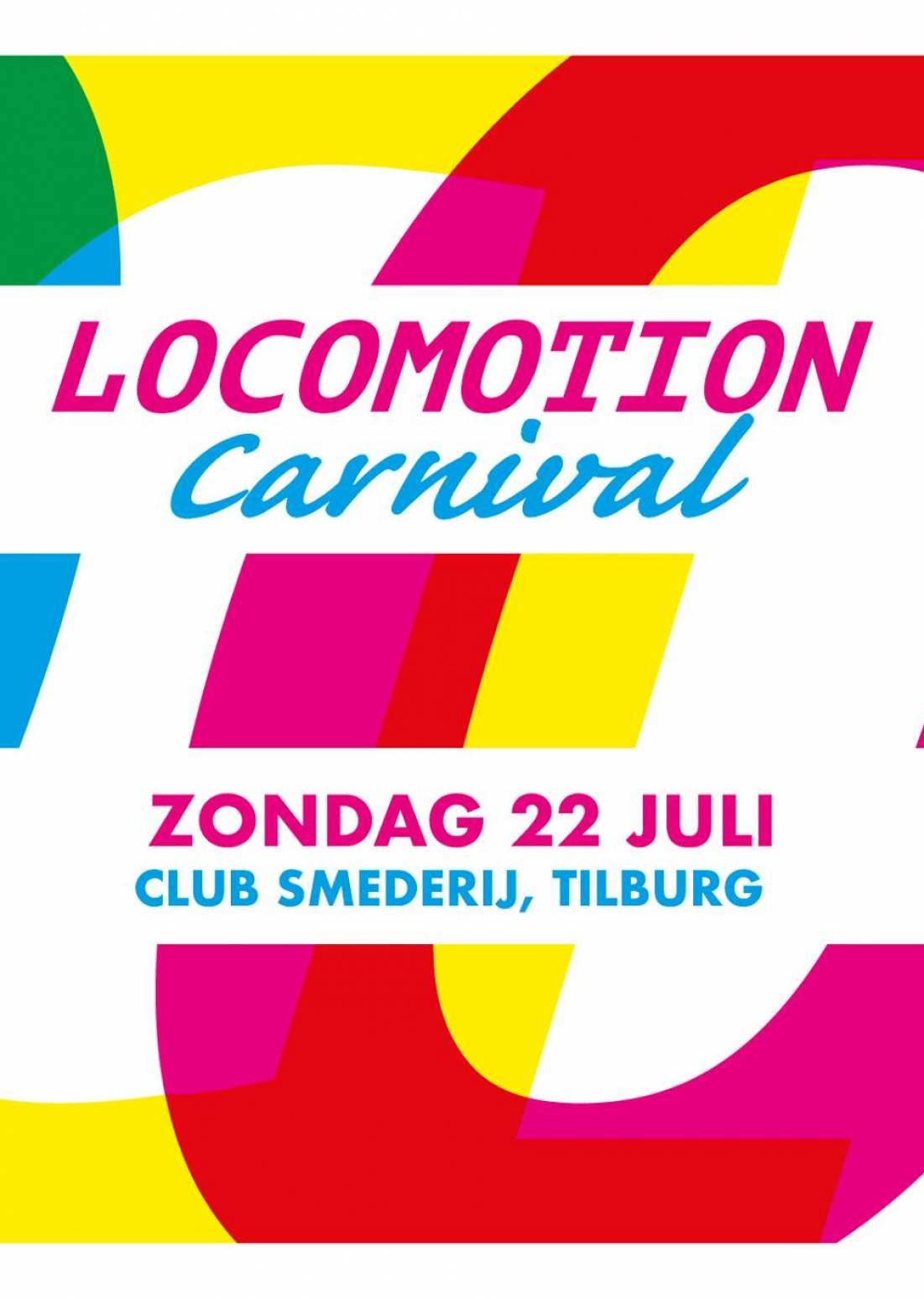 Locomotion Carnival x Club Smederij