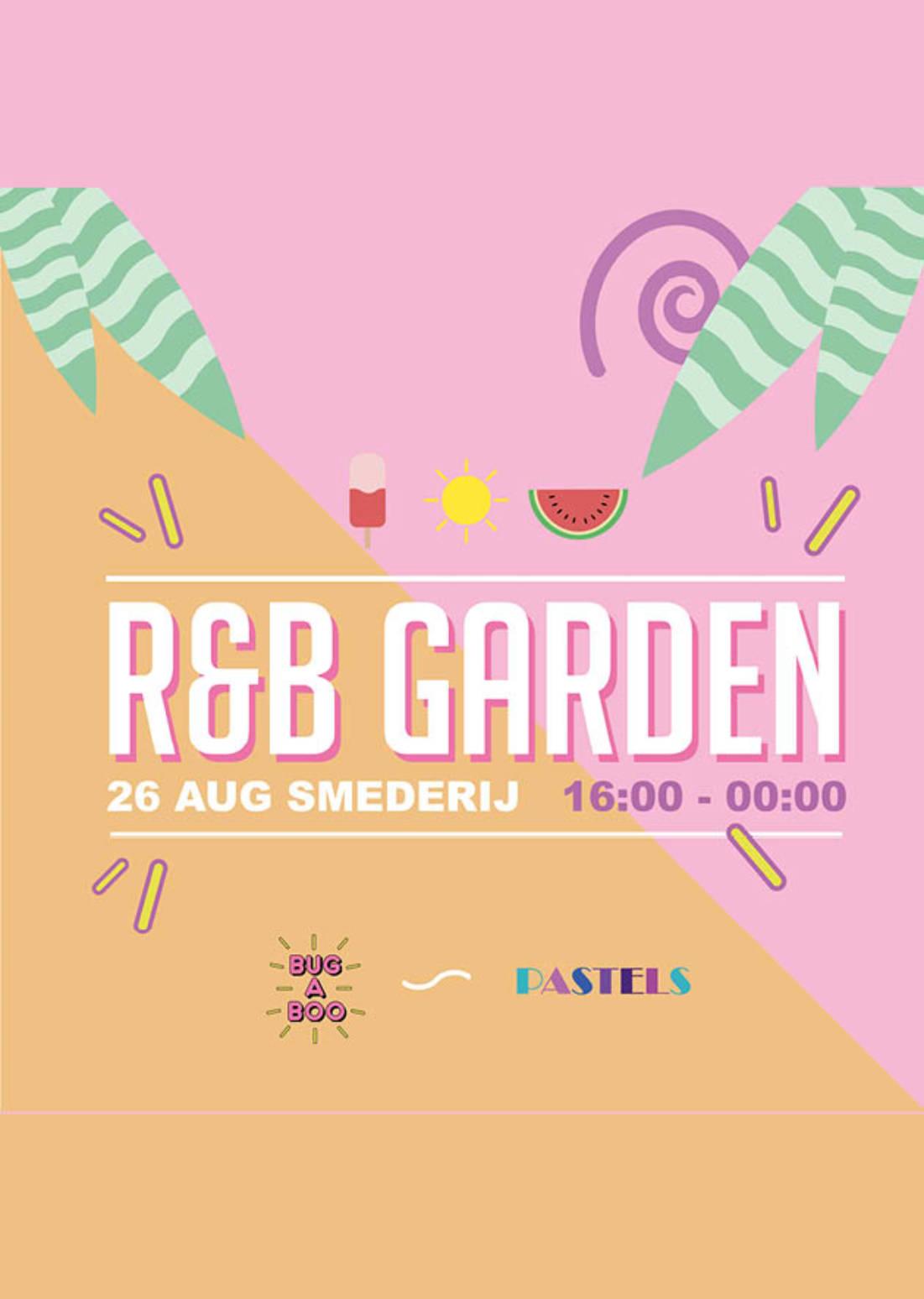 BUG A BOO X Pastels | R&B Garden