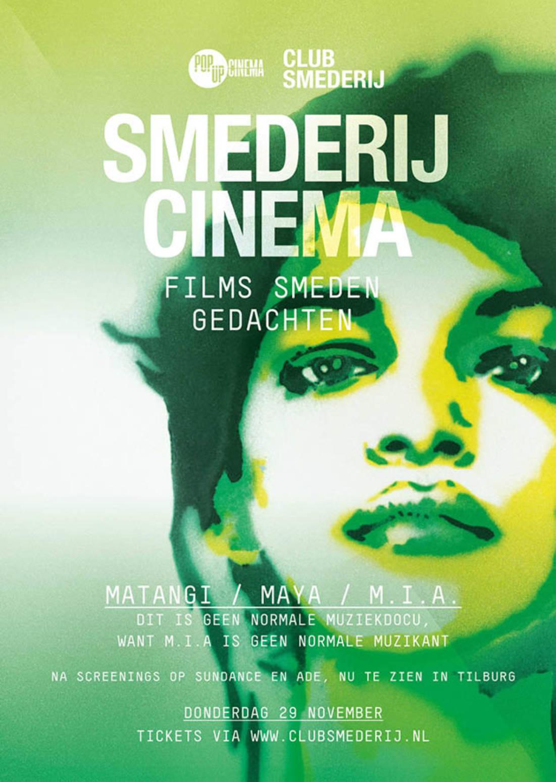Smederij Cinema – MATANGI /MAYA / M.I.A.