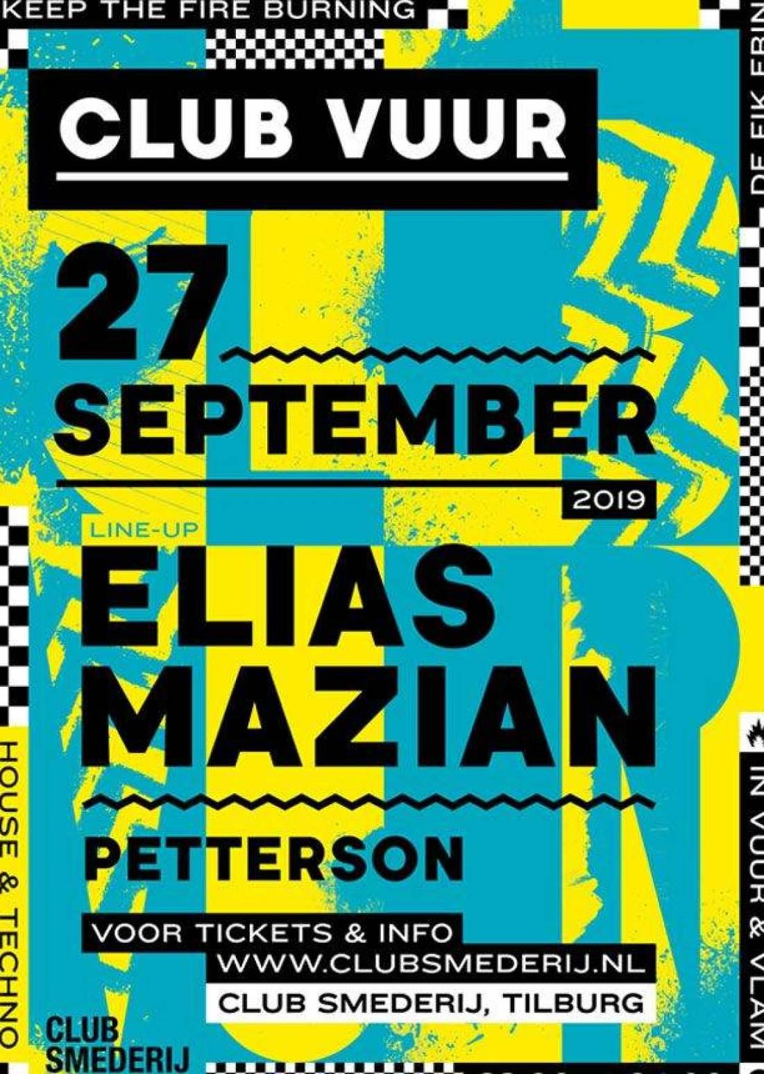 Club Vuur w/ Elias Mazian