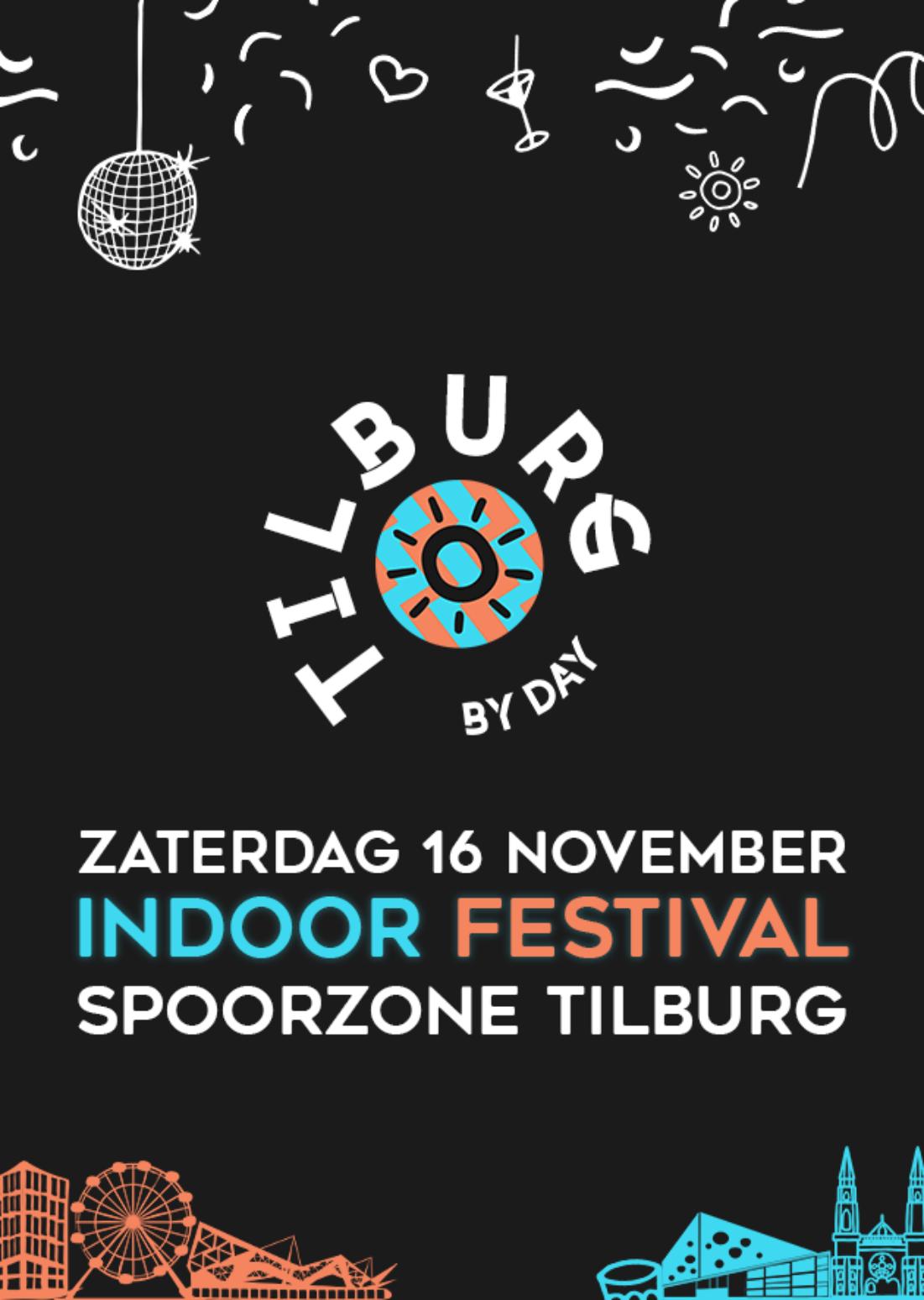 Tilburg By Day I Indoor Festival