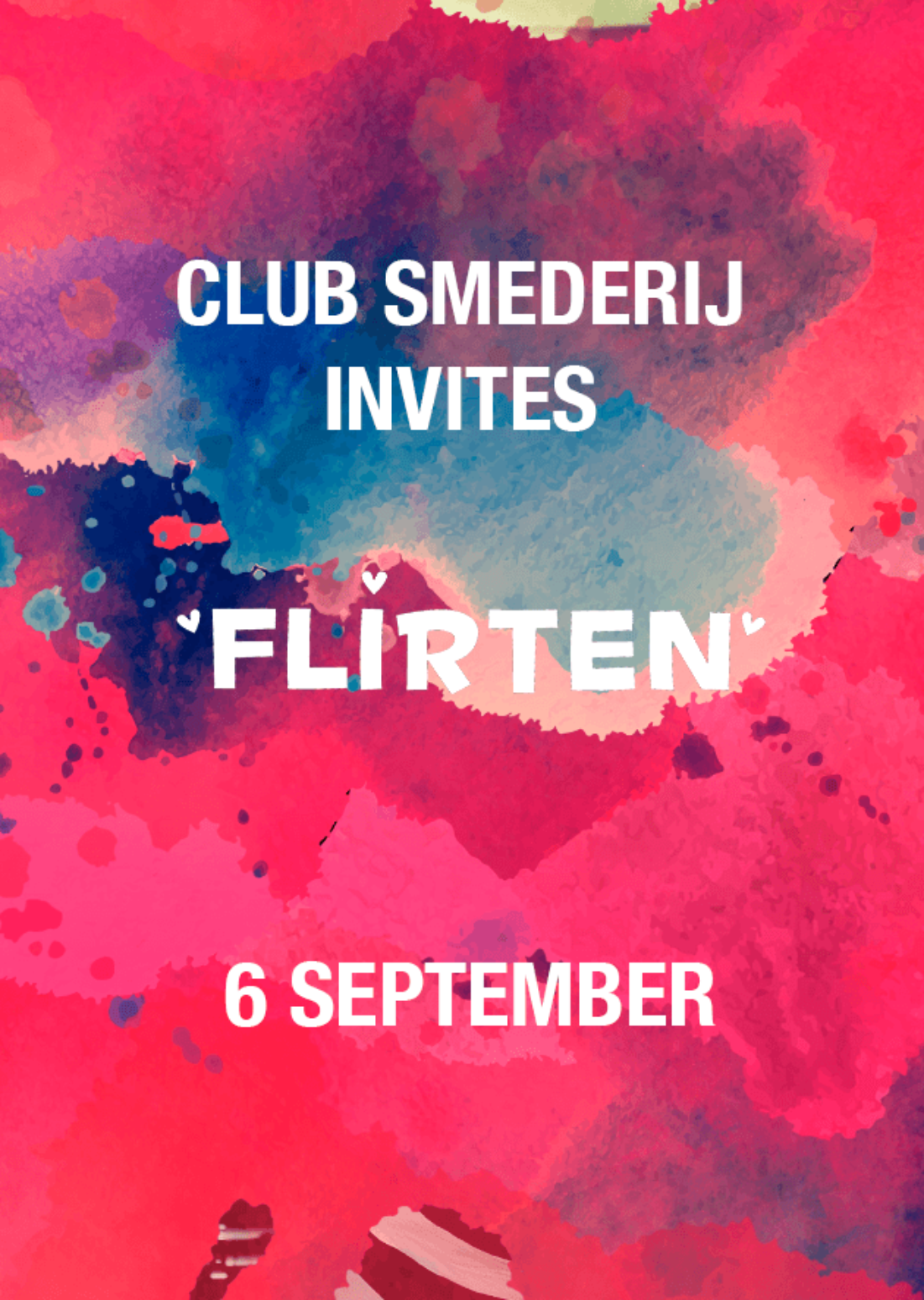 Club Smederij Invites FLIRTEN