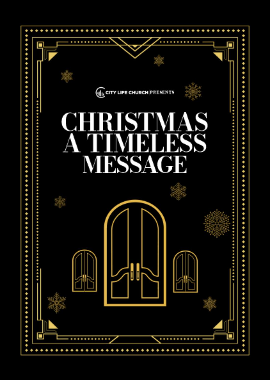 Kerst bij de City Life Church
