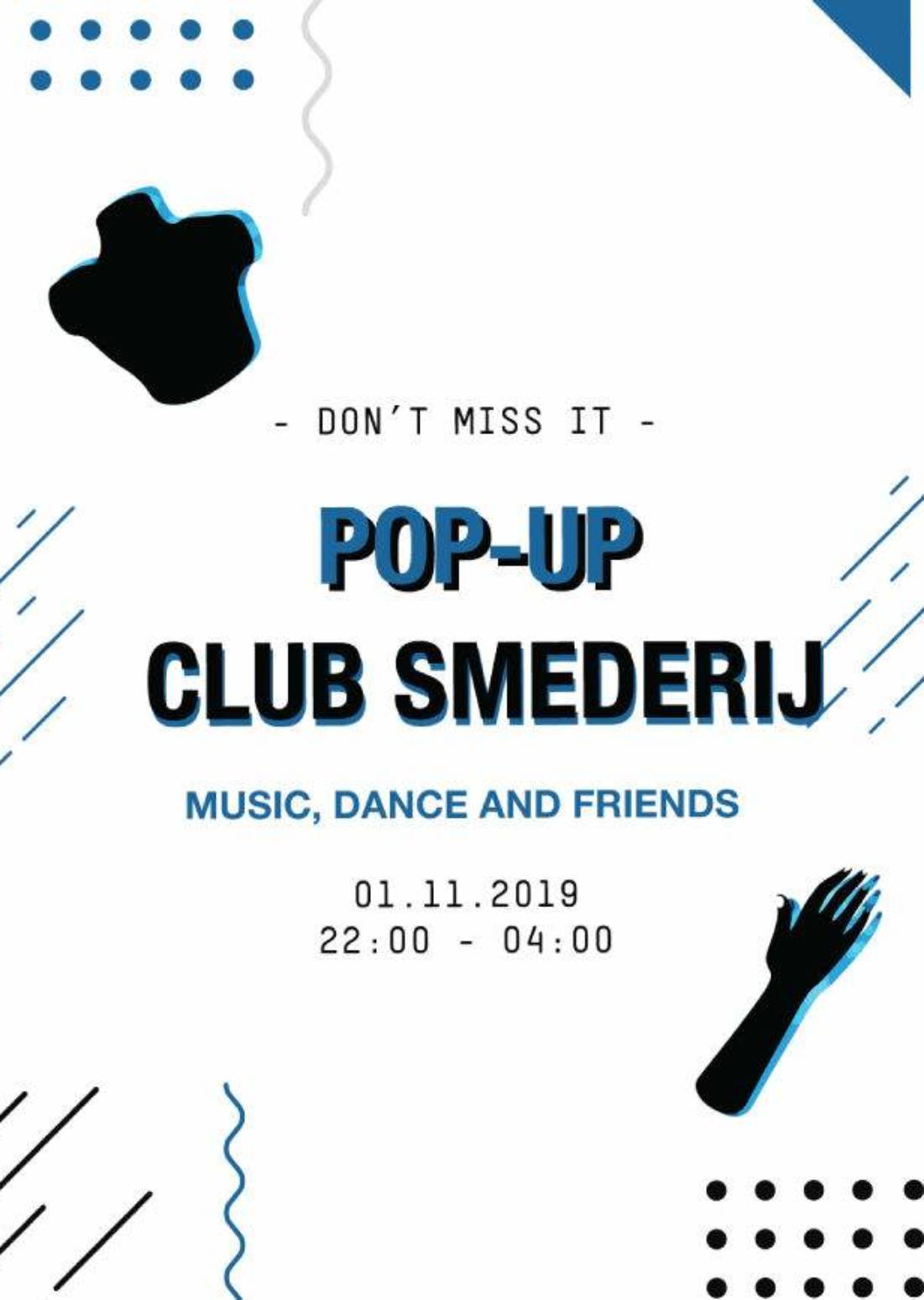 Pop-up Club Smederij