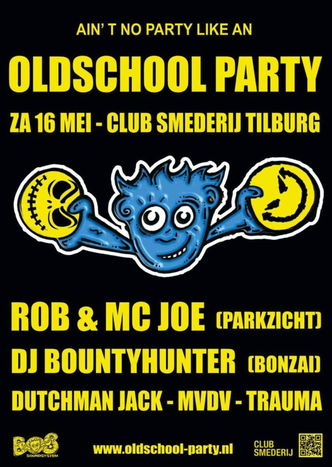 Ain't No Party Like An Oldschool Party