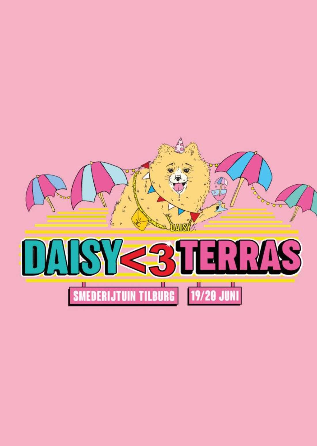 DAISY <3 TERRAS - 19 JUNI