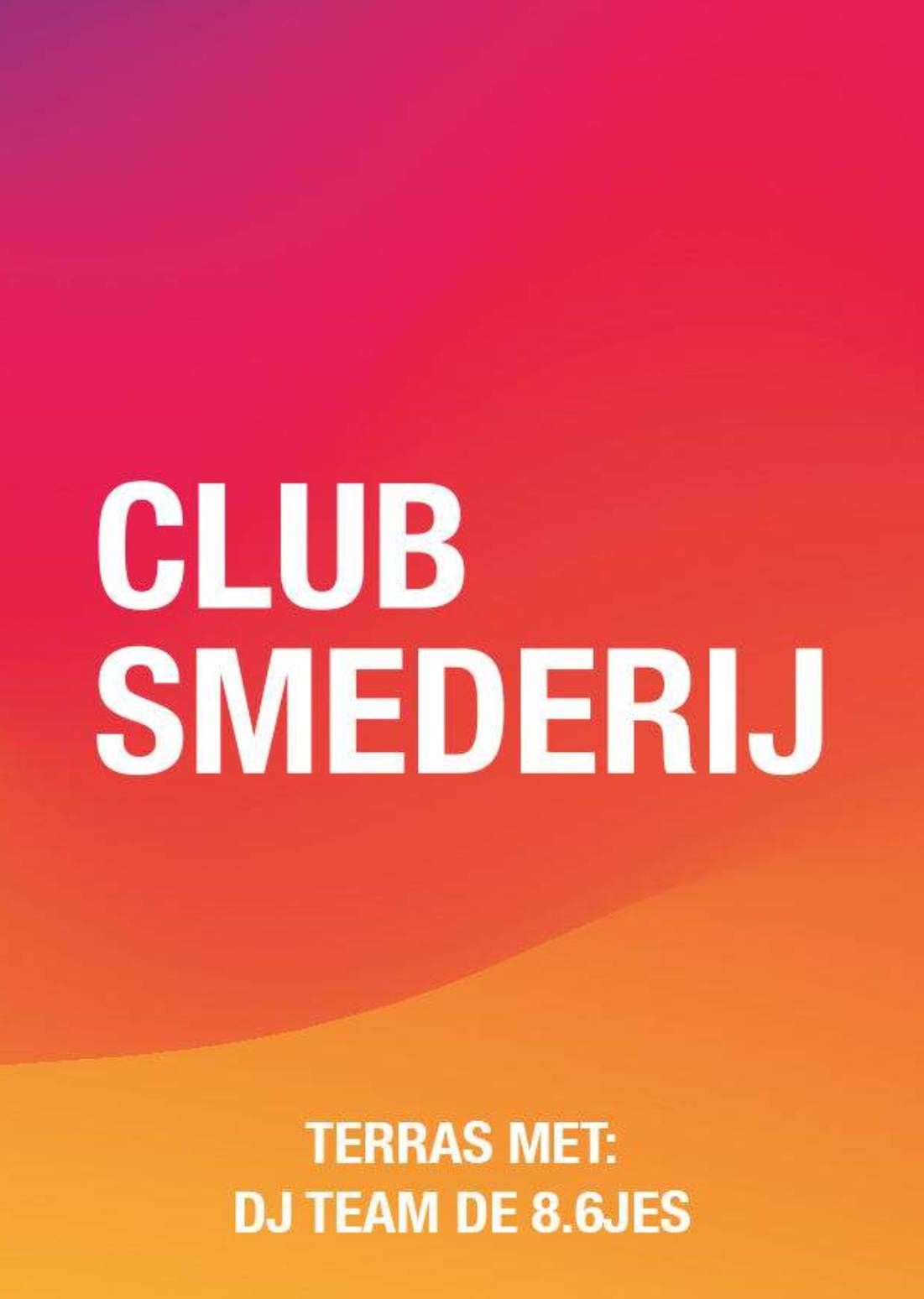 DJ TEAM DE 8.6JES | Smederijtuin